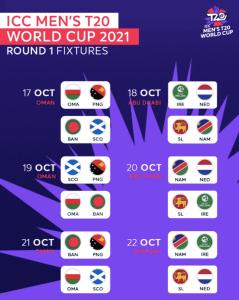 T20 world cup Round 1